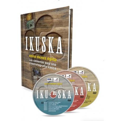 IKUSKA Liburua + 3 DVD