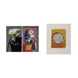 Lote 6: Dos serigrafías